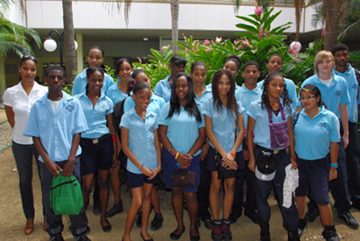 MPC STUDENTS VISIT THE ST. MAARTEN MEDICAL CENTER