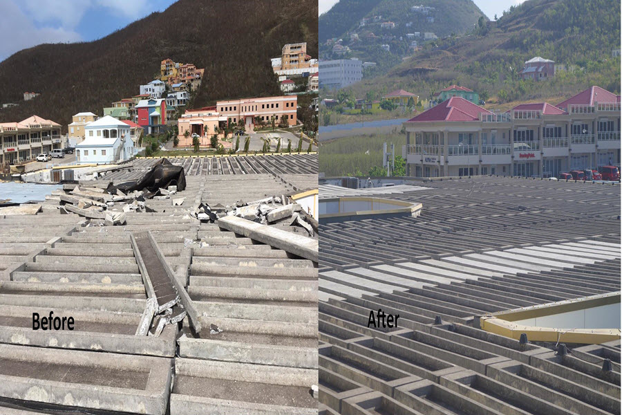 SMMC completes Roof Repair Project