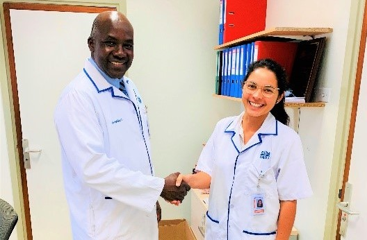 SMMC recruits House Officer Dr. Liqui Lung via Fred Expo