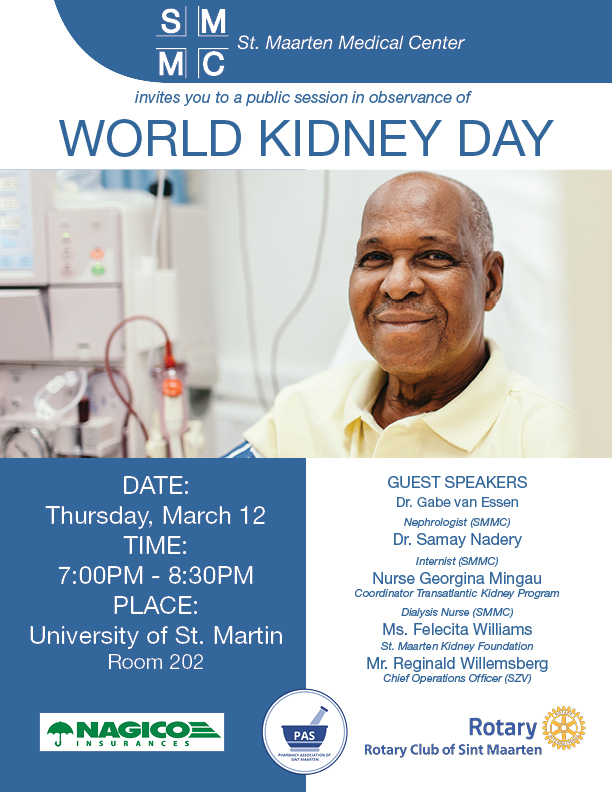 SMMC invites public to attend World Kidney Day Session